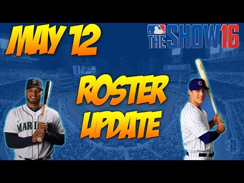 MLB 16 The Show: Roster Updates 12May2016