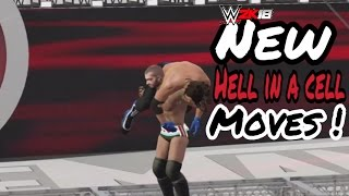 WWE 2K18 NEW HELL IN A CELL MOVES ! [CONCEPT]