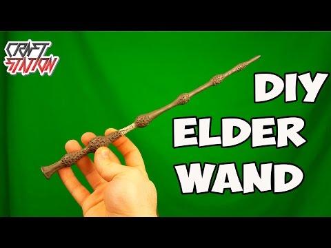 How to make Albus Dumbledore's  Elder Wand DIY