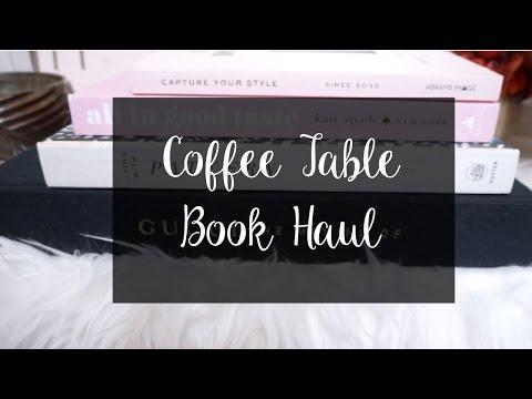 Coffee Table Book Haul    Marshalls, Half Price Books, Goodwill
