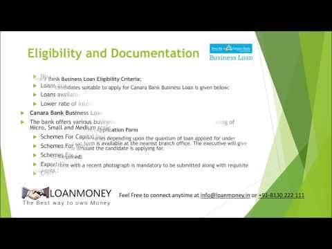 Canara Bank Business Loan in Delhi NCR through LoanMoney
