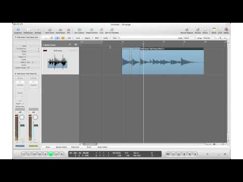 How To: Logic Pro 9 Tutorial #9 - Fast Ways to Chop Samples In Logic - Option #2