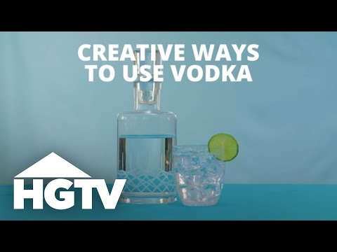 Creative Ways to Use Vodka - Easy Does It - HGTV