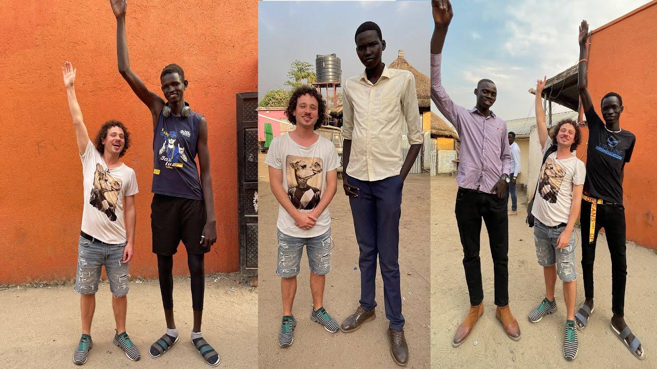El país con la gente MÁS ALTA del mundo 😱 | Sudán del Sur 🇸🇸