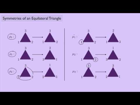 (Abstract Algebra 1) Symmetries of an Equilateral Triangle