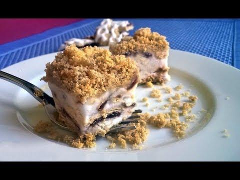 Easy No-Bake Frozen Blueberry Pie