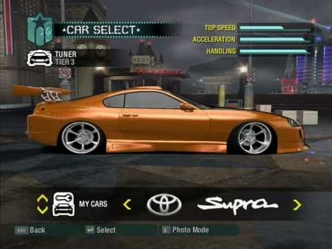 Need For Speed Carbon - My Tuning Cars: 14 / 2008 Year