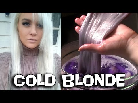 The ONLY way to tone platinum blonde hair extensions! - Purple shampo / Fanola / SILVER HAIR!