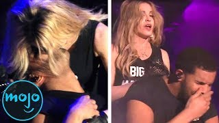 Download Top 10 Most Awkward Celeb Encounters Video