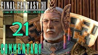 Final Fantasy XII The Zodiac Age Walkthrough Part 21 - The Ogir-Yensa Sandsea (PS4 Gameplay)