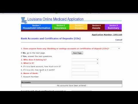 Medicaid Louisiana Part 2