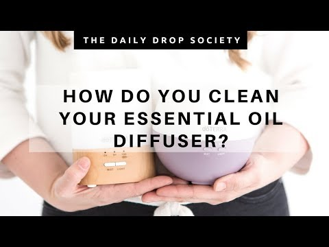 ESSENTIAL OILS 101 🌟 Cleaning your diffuser!