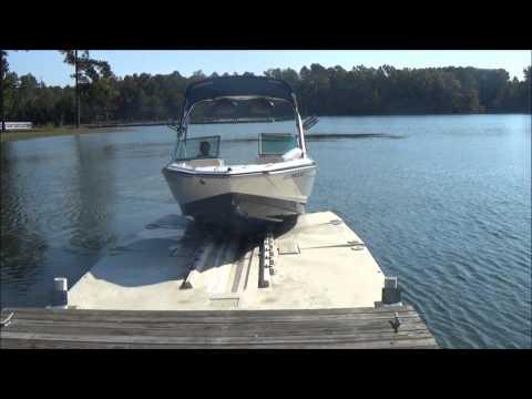 Floating Boat Dock Drive on Boat lift - 5000 lb lift