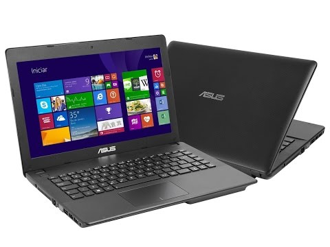 Unpacking Asus Notebooks 14, X453M with problem