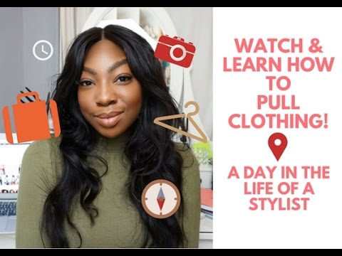 A Day In The Life Of A Fashion Stylist   Watch Me Pull Clothing For A Shoot!