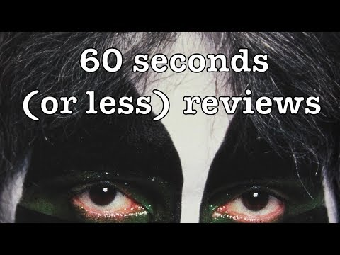 Peter Criss - Makeup to Breakup Book l 60 Seconds (or less) Reviews