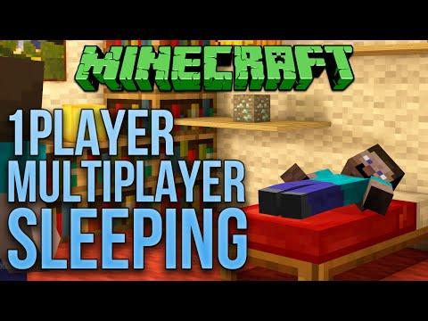 Minecraft 1.9 1 Server Friendly Multiplayer Sleeping Tutorial (Works On Realms)