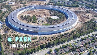 APPLE PARK: June 2017 -- Looking Through Open Doors
