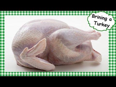 How To Brine a Turkey Before Roasting ~ Brining Seasoning Holiday Whole Turkey Recipe