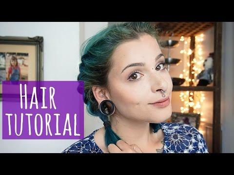 Mini Hair Tutorial! || Easy Rope-braided Pigtails
