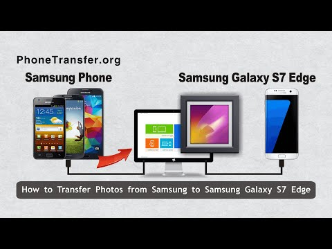 How to Transfer Photos from Samsung to Samsung Galaxy S7 Edge, Pictures to S7 Edge