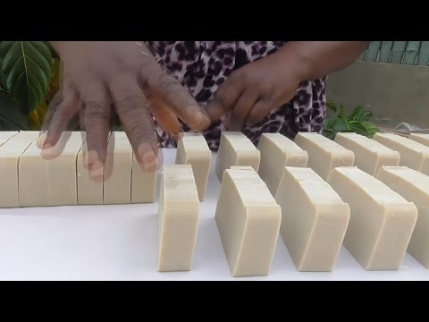 Making All Natural Rhassoul Clay Shampoo Bar By Skin-Passion