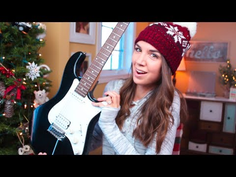 LEARNING TO PLAY ELECTRIC GUITAR?! // 2018 Guitar Goals