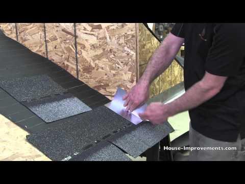 How To Shingle - Step Flashing
