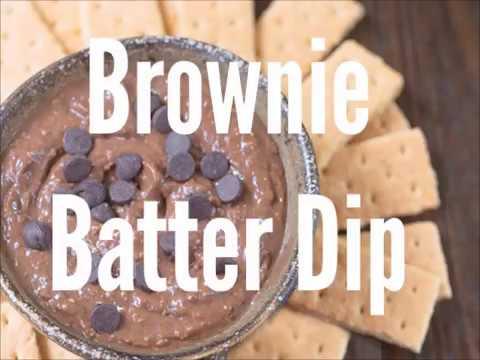 Chocolate Brownie Batter Dip