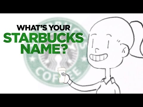 What's Your Starbucks Name?