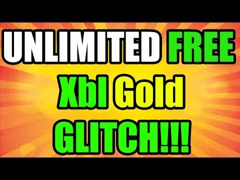 HOW TO GET FREE UNLIMITED XBOX LIVE GOLD | XBOX ONE & 360 GOLD GLITCH *LATEST WORKING METHOD*