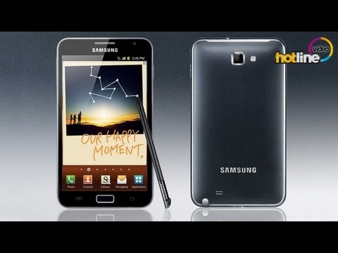 Обзор Samsung Galaxy Note (GT-N7000)