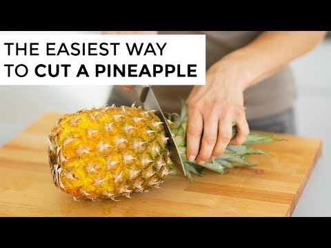 How-To Cut A Pineapple | Clean & Delicious