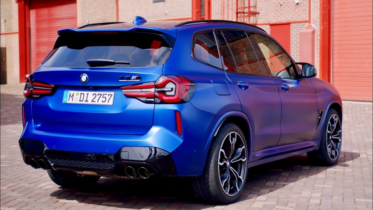 New BMW X3 M 2022   exterior, interior, driving & RELEASE DATE