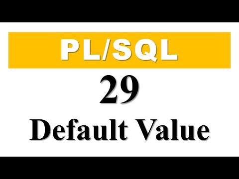 PL/SQL tutorial 29: How To Create Cursor Parameter With Default Value By Manish Sharma