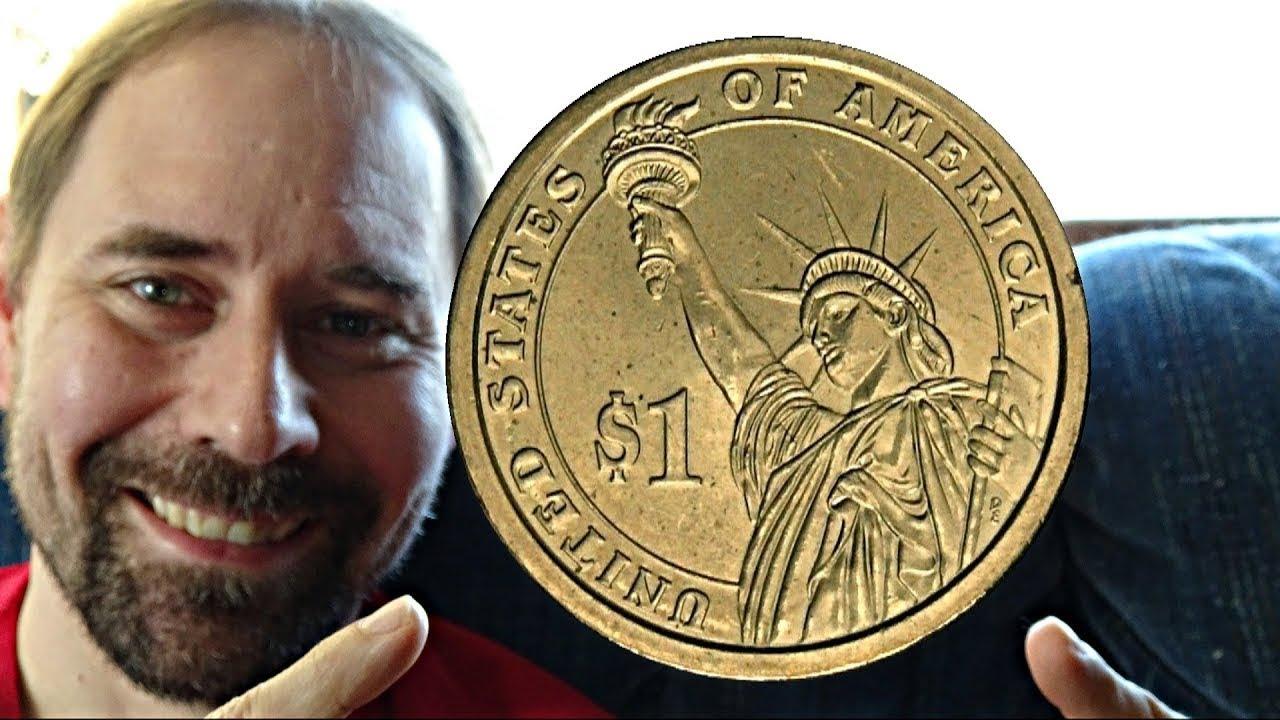 USA 1 Dollar Coin D 2007 John Adams