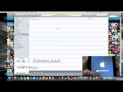 iOS 4.2.1 Download and Install - iPod Touch 3rd Generation