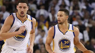 Steph Curry CALLS OUT Klay Thompson for STEALING SHOTS!