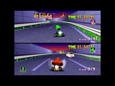 Mario Kart 64: A.I. with no cheating allowed