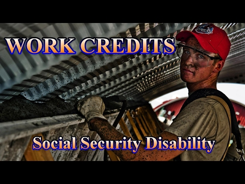 Social Security Disability FAQ: What are Work Credits?