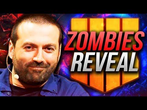 BLUNDELL REVEALS THE SECRET ZOMBIES MAP + Details!! (Black Ops 4 Zombies VAPE REVEAL)