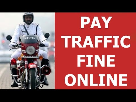 How to #29 Pay online  Police Traffic Fines in West Bengal