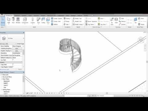 Autodesk Revit 2017 - Creating Staircases
