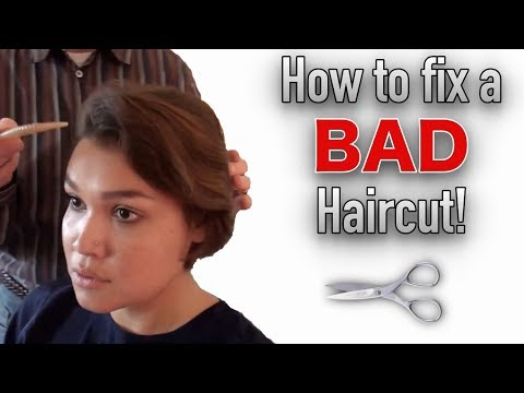 How to Fix a Bad Haircut | Morrocco Method