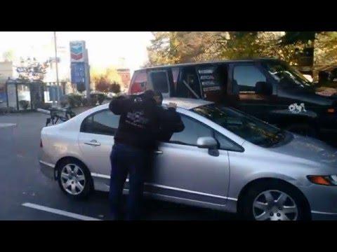 Honda CIVIC Car door unlocked in Portland
