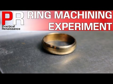 Machining a Ring out of Stainless?