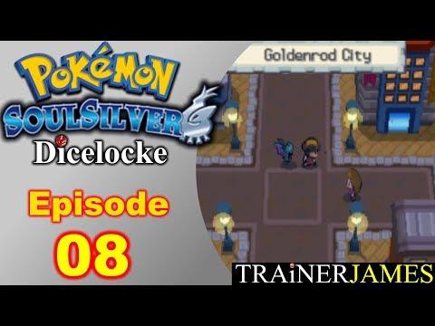 Welcome to Goldenrod City | Ep. 08 - Pokemon SoulSilver Dicelocke Nuzlocke