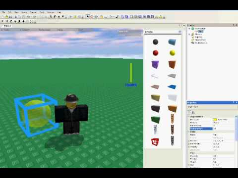 ROBLOX Tutorial: Making Objects Transparent