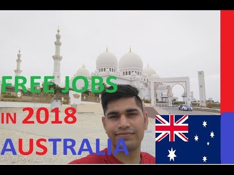 Free Jobs in Australia 2018