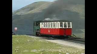 Steam in the Hills Part three - The Snowdon Mountain Railway